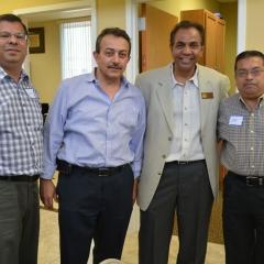 Murad, Hisham, Sal and Danny