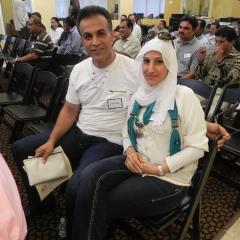 Mr. and Mrs. Haytham and Khwaja