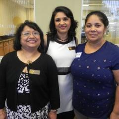 Vishakha, Shivani and Kamina