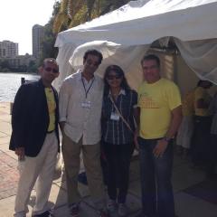Mr. Virji, Ashish, Sheetal and Al Barmanwalla